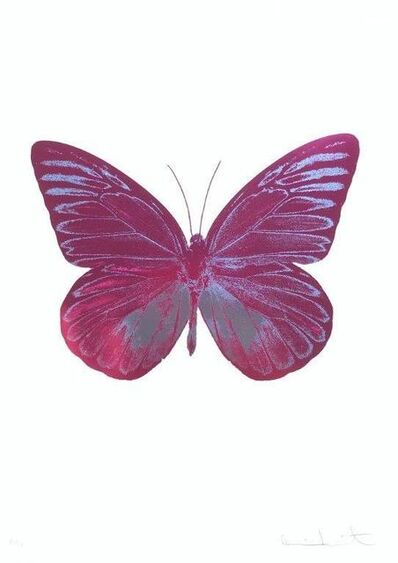 Damien Hirst, 'The Souls I - Fuchsia Pink - Cornflower Blue', 2010