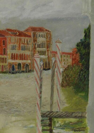 Guy Bardone, 'Embarcadére sur le Canale Grande, Venise', 1973