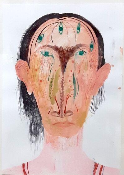 Silvia Mei, 'Ritratto con Occhi', 2014
