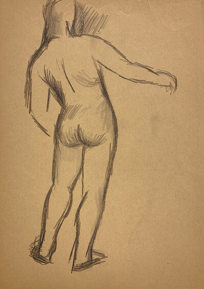 Jared French, 'Untitled (Male Figure) [Arm Extended]', 1930
