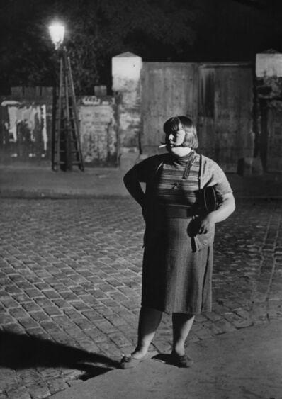 Brassaï, 'La Grosse Fille de Joie, Quartier Italie', 1932