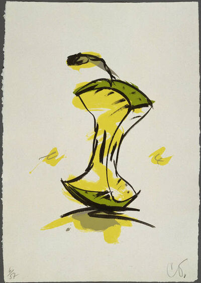 Claes Oldenburg, 'Apple Core - Spring', 1990