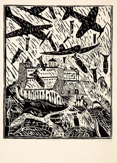 Italo Scanga, 'Monte Cassino (Black and White)', 1984