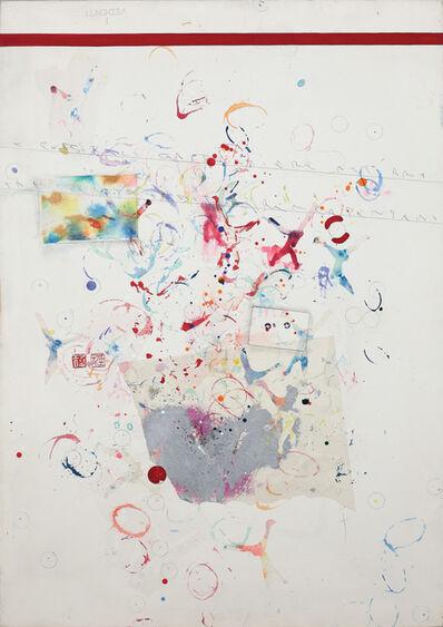 Alighiero Boetti, 'Senza titolo (Scimmie)', 1990