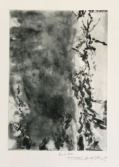 Zao Wou-Ki 趙無極, 'Proustiennes (348)', 1991