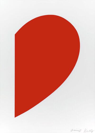 Ellsworth Kelly, 'Red Curve', 2013