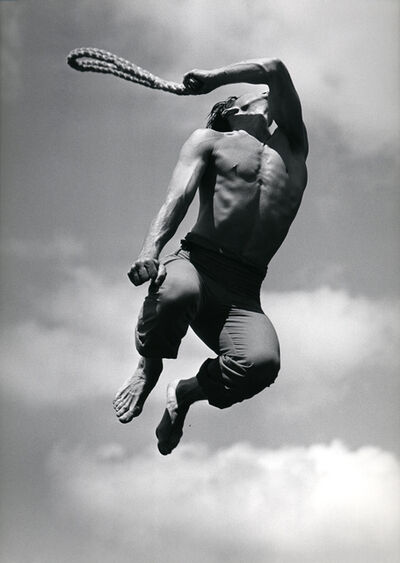 Barbara Morgan, 'Eric Hawkins as El Flagellante in Martha Graham's El Penitente', 1940-printed circa 1980