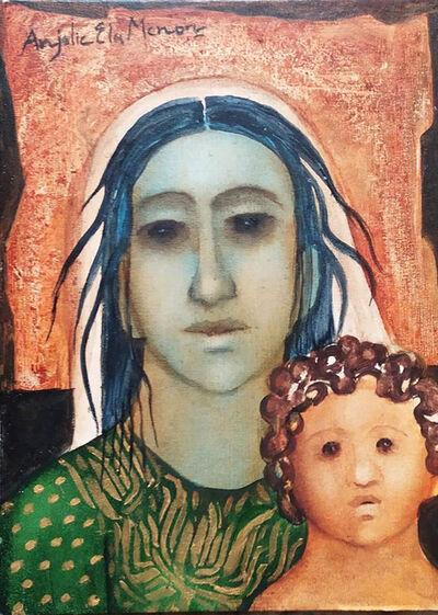 Anjolie Ela Menon, 'Mother and Cild', 2021