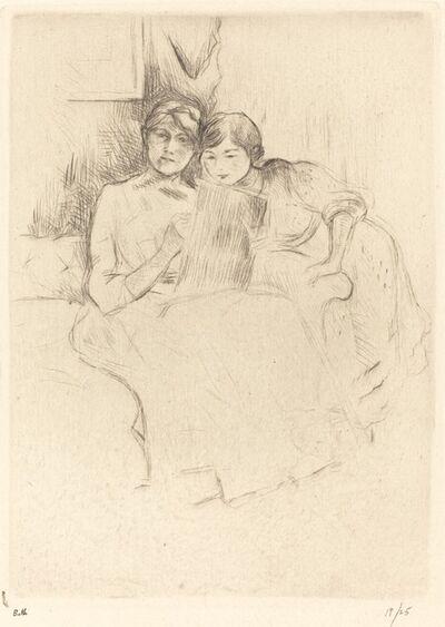 Berthe Morisot, 'The Drawing Lesson', 1888/1890
