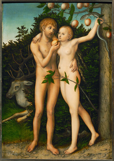Lucas Cranach the Elder, 'The Fall', After 1537