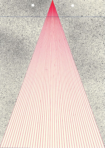 Callum Russell, 'Lined Paper V', 2017