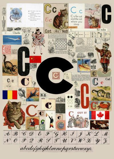 Peter Blake, 'The Letter C', 2007