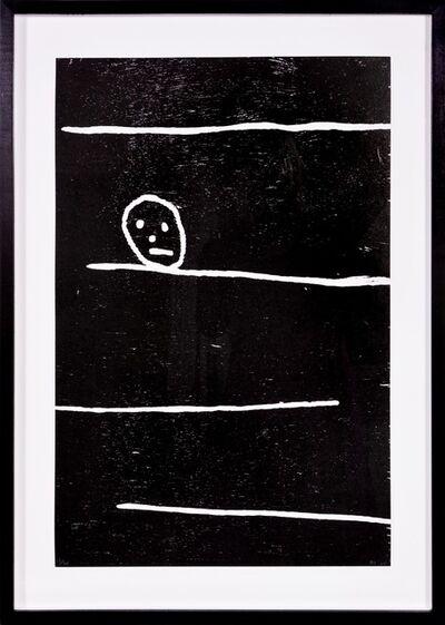 David Shrigley, 'David Shrigley, Lines and Head, 2005', 2005