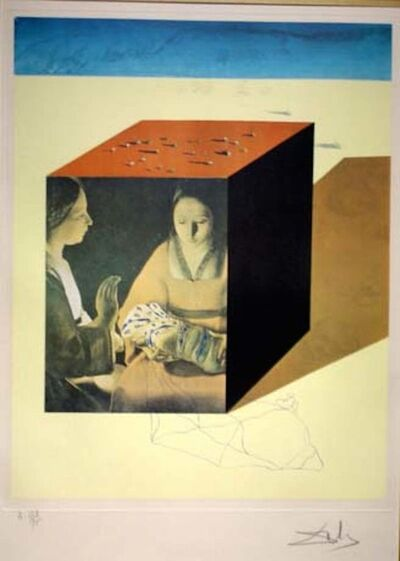 Salvador Dalí, 'Memories of Surrealism Caring For a Surrealist Watch', 1971