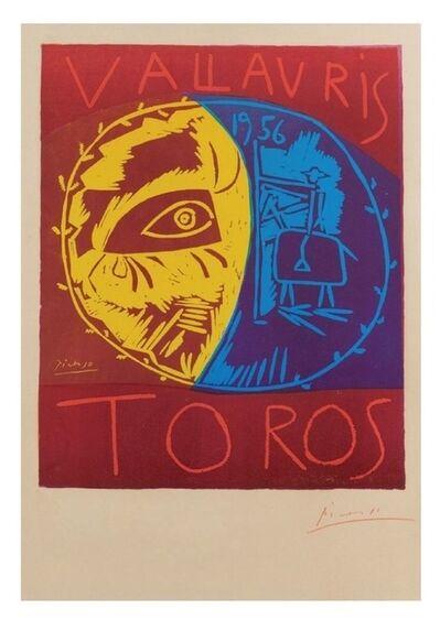Pablo Picasso, 'Vallauris 1956 Toros (B. 1270)', 1956