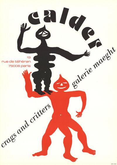 Alexander Calder, 'Crags & Critters', 1975