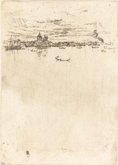 James Abbott McNeill Whistler, 'Upright Venice', 1880