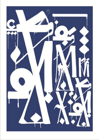 RETNA, 'Untitled (Provocateurs Print)', 2014