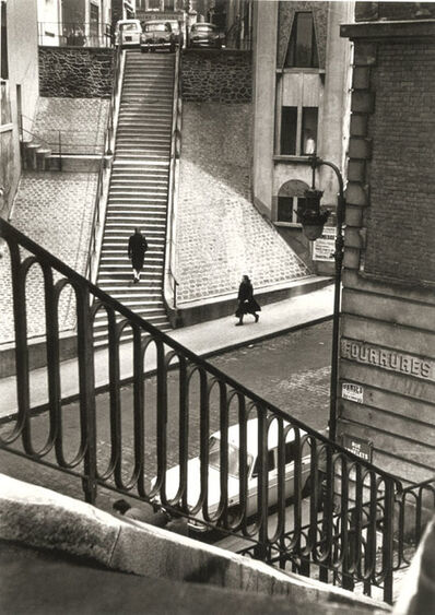 Alfred Eisenstaedt, 'Left Bank, Paris', 1964