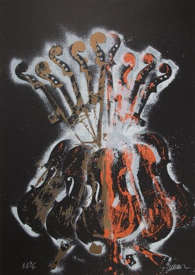 Arman, 'Night Music', c. 1980