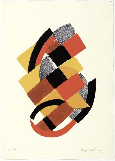 Sonia Delaunay, 'From: Rythmes-Couleurs', 1966