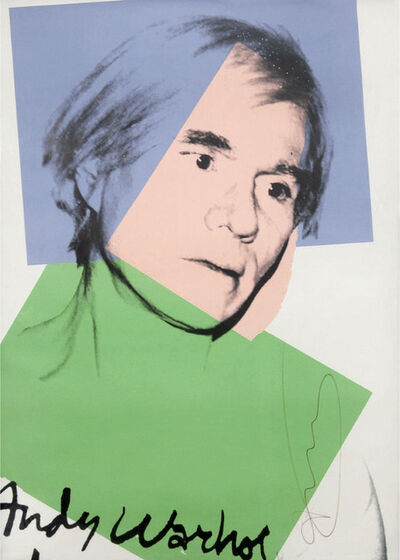 Andy Warhol, 'Self portrait', 1978