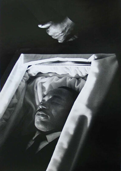 Bob Fitch, 'Dr. King in Casket', 1968