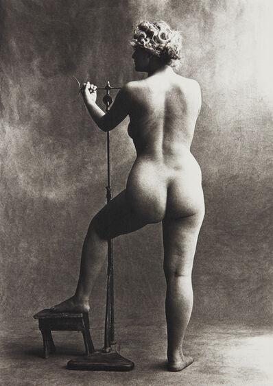 Irving Penn, 'Sculptor's Model, Paris', 1950-printed 1976