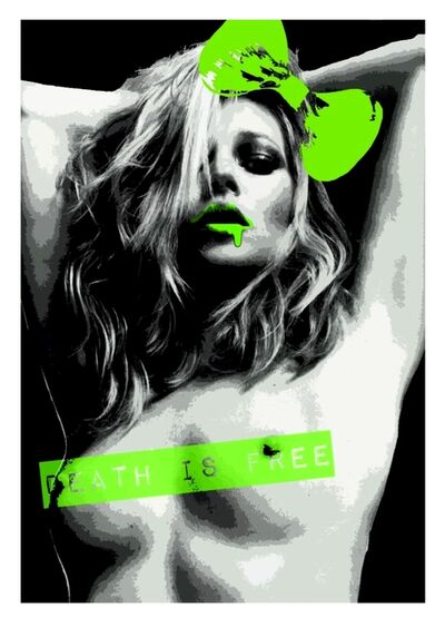 Death NYC, 'Kate Moss P Green', 2014