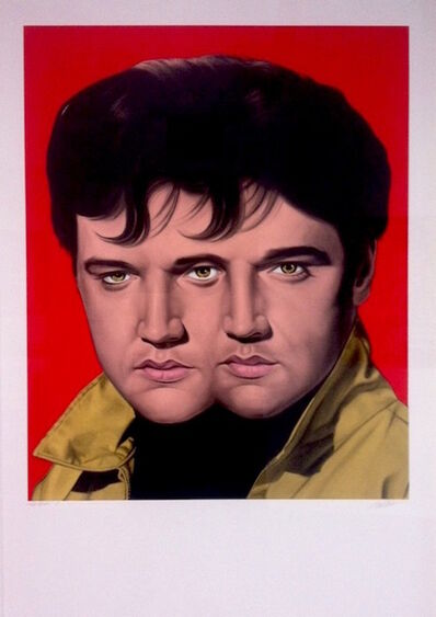 Ron English, 'Red Elvis', 2012