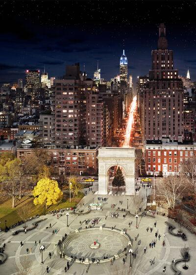 Stephen Wilkes, 'Washington Square Park, NYC', 2009