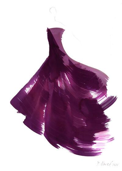 Bettina Mauel, 'The Purple Dress 2', 2020