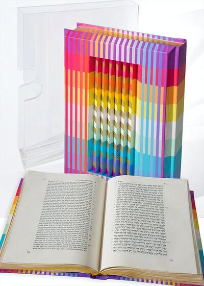 Yaacov Agam, 'Rainbow Torah', 1992