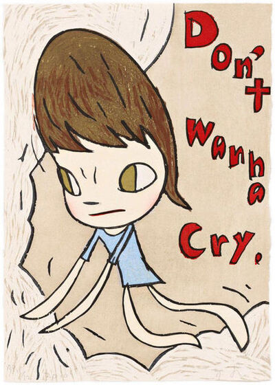 Yoshitomo Nara, 'Don't Wanna Cry', 2010