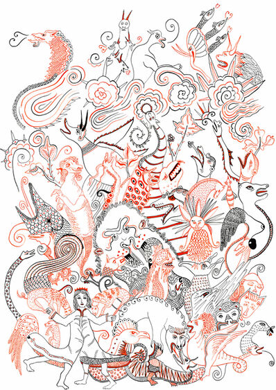 Diane Scheidecker, 'Dragons du Moyen-Âge', 2016
