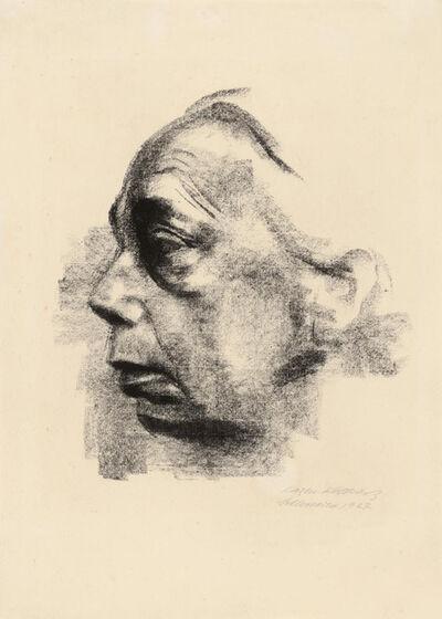 Käthe Kollwitz, 'Self-portrait', 1927