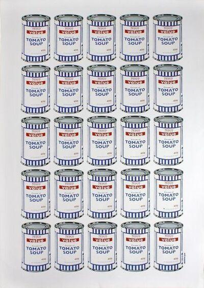 Banksy, 'BANKSY TESCO VALUE TOMATO SOUP CANS, ORIGINAL LITHOGRAPH LTD EDITION POW', 2010