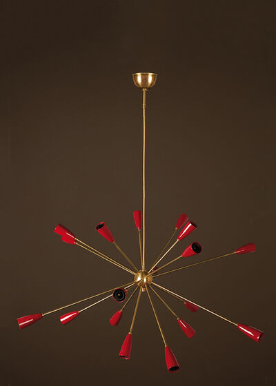 Travail Italien, 'Sputnik Chandelier', vers 2010