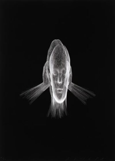 Jaume Plensa, 'Lumière Invisible (Sanna)', 2018