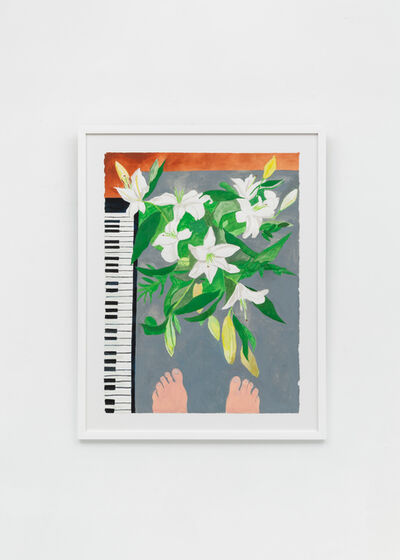 Charlie Scheips, 'Lilies from Above', 2019