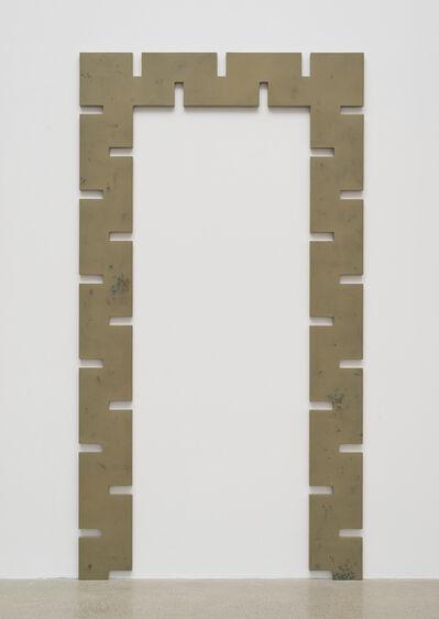 Rosha Yaghmai, 'Gates (Aztec Secret healing clay, Miracle-Gro, copper)', 2015