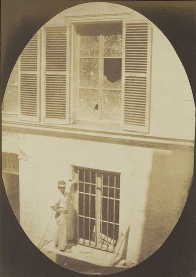 Hippolyte Bayard, 'Construction Worker, Paris,', About 1845-1847