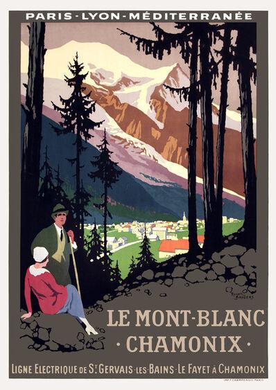 Roger Broders, 'Le Mont Blanc - Chamonix - France ', ca. 1920
