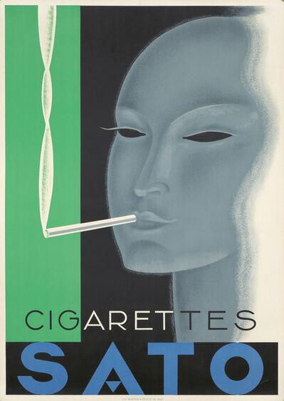 Anonymous, 'Cigarettes Sato.', 1933