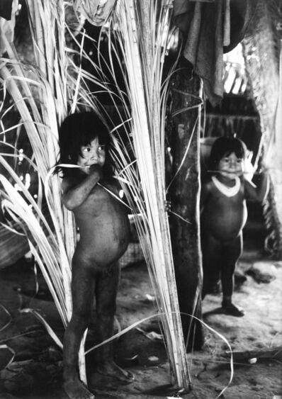 Fulvio Roiter, 'L'ultimo paradiso - Indios - Nato Grasso, Brasil', 1957