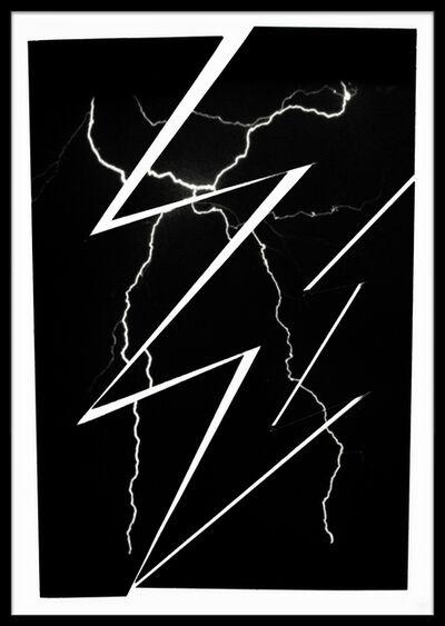 Sarah Charlesworth, 'Lightning', 1981