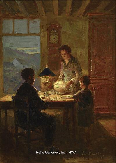Edouard Léon Cortès, 'Interieur en Normandie'
