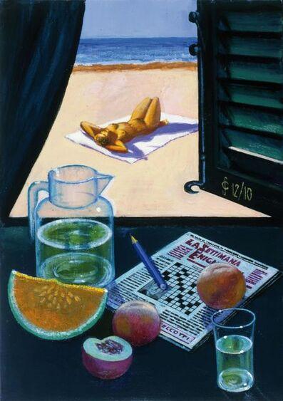 Sergio Ceccotti, 'Enigmi d'estate', 2010