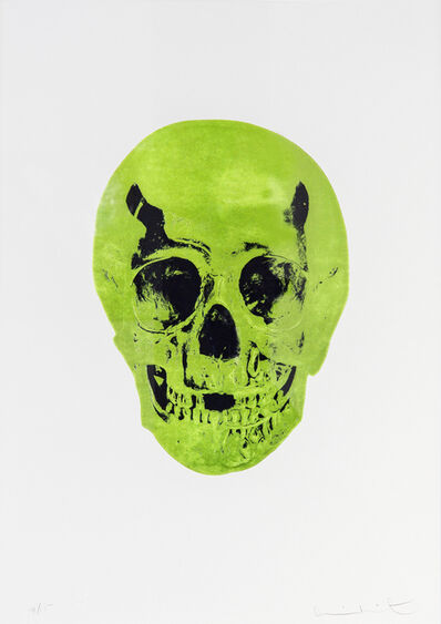 Damien Hirst, 'The Sick Dead - Lime Green/Raven Black', 2014
