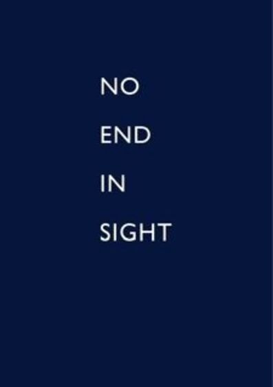John Wood and Paul Harrison, 'No end in sight', 2009